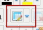 """JCE ikona """"vložit novou tabulku"""""""