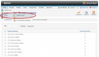 Joomla 2.5 globální kontrola
