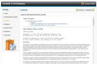 instalace Joomla 2.5 třetí fáze