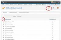 Joomla 2.5 odemčení ochran obsahu