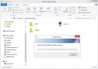 Kopírování FTP pomocí průzkumníka ve Windows 8