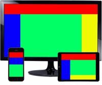 layout webdesignu responzivní