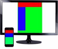 layout webdesignu pro telefony