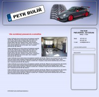 Originální grafický návrh webu