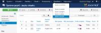 Joomla správce jazyků pro instalaci multijazyčného webu